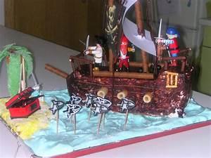 Deco Anniversaire Pirate : d co g teau anniversaire pirate ~ Melissatoandfro.com Idées de Décoration