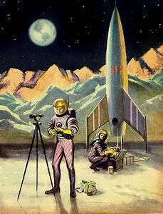 50's Sci-fi | Vintage Space | Pinterest | Sci fi, Pictures ...