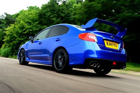 subaru custom cars subaru wrx sti best performance cars auto express