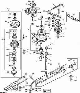 30 John Deere Lx176 Deck Belt Diagram