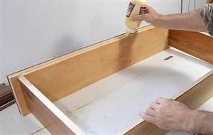 Fabrication de tiroirs de commode