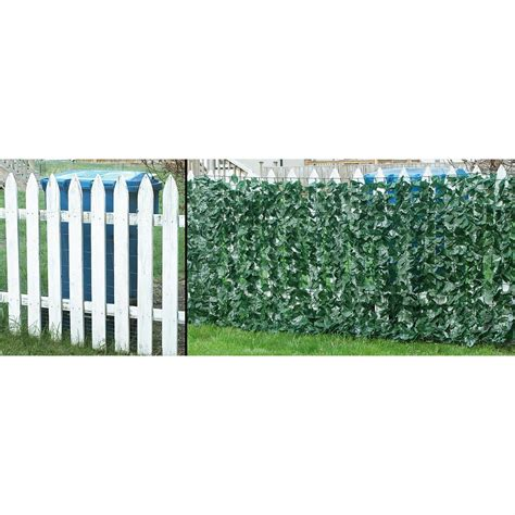 privacy cover for fence ivy fence cover 227005 decorative accessories at sportsman s guide