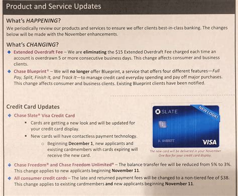 I have 2 credit cards. Miscellaneous Chase Updates: No More Blueprint, Slate Card ...