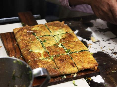 sweet  savory martabak   king  indonesian street
