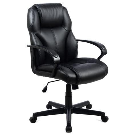 pu leather ergonomic high back executive computer desk