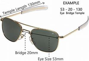 Ray Ban New Wayfarer Size Chart How To Properly Size Your Sunglasses Lens Frame Sizes
