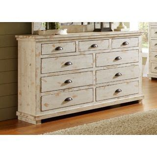 White Dresser In Store by Willow Distressed White Drawer Dresser Furniture Outlet