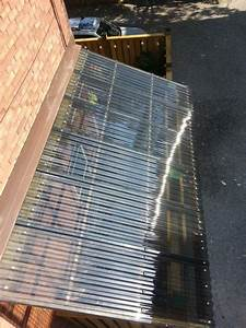 The Corrugated Plastic We Used For The Roof