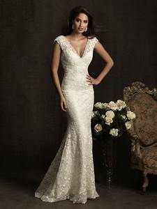 wedding dress business wedding dress with v neck With v neck lace wedding dress