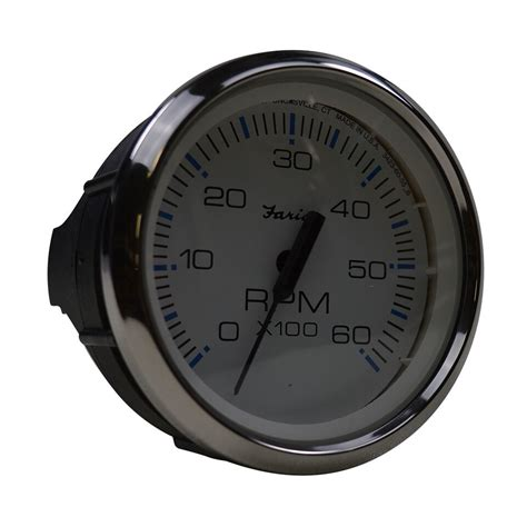 Boat Gauges Repair by 4 Quot Tachometer Faria White Nautique Parts