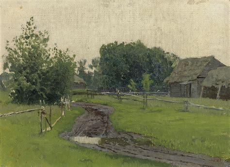 Isaak Levitan (1860-1900)