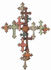 Multiple Cross On Cross Metal Iron Wall Decor Midwest-CBK