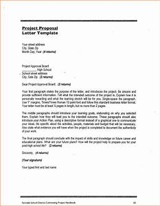 5 make a proposal for a project project proposal With project letter