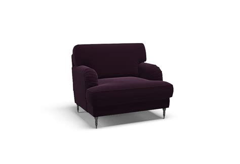 Palermo Plum By Covercouch.com