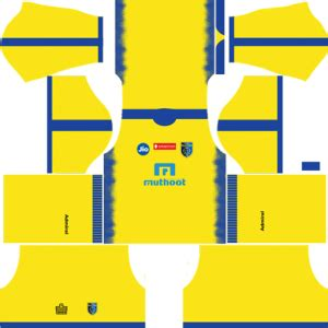 kerala blasters fc kits  logo dream league soccer