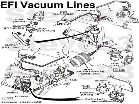 Ford Vacuum System Diagram Wiring Forums