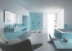 inspiration une salle de bains bleue inspiration bain With salle de bain couleur bleu