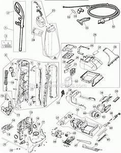 Hoover Carpet Cleaner Parts Diagram