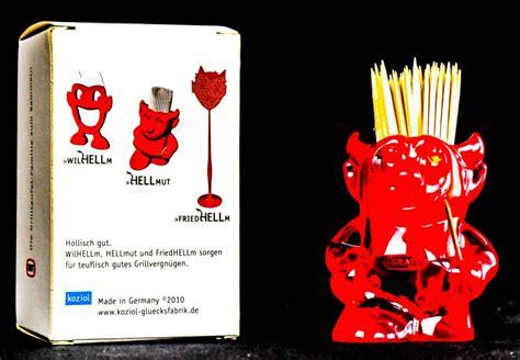 Teufel Reklamation by Kraft Partyteufel Quot Hellmut Quot Zahnstocherbox Teufel