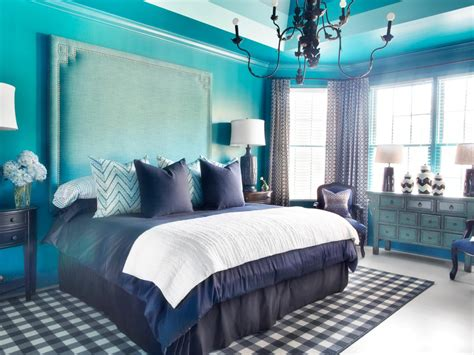 Traditional Master Bedroom With Masculine And Feminine