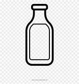 Para Leche Colorear Botella Milk Bottle Coloring sketch template