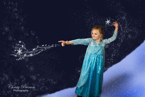 Elsa Background Frozen Inspired Digital Background For Elsa Photography