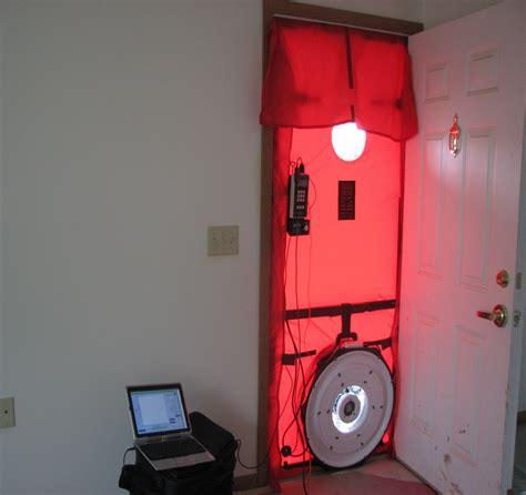 blower door test quot home energy blower door quot course