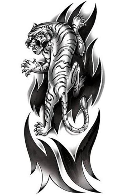 Manche Tigre Tribal  Tattooforaweek Tatouages Temporaires