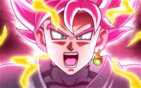 descargar fondos de pantalla goku  dragon ball  rosa