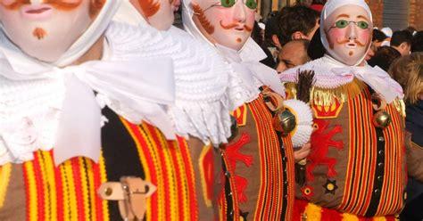 carnival binche folkloric gilles