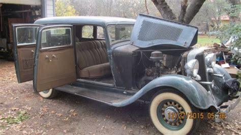 1933 Dodge Sedan 6 For Sale In Redding, California, United
