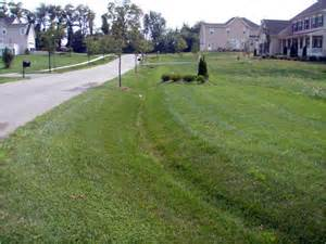Residential Drainage Swale