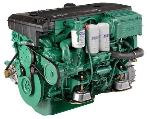 volvo penta offer   series engine keel cooling