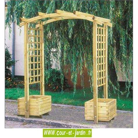 arche de jardin en bois arcade pergola de jardin