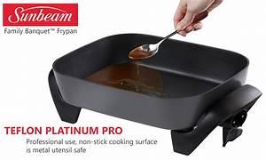 Sunbeam Electric Fry Pan Instructions Alberta