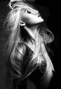 Love the hair/motion Amazing profile shot. Blonde hair is ...