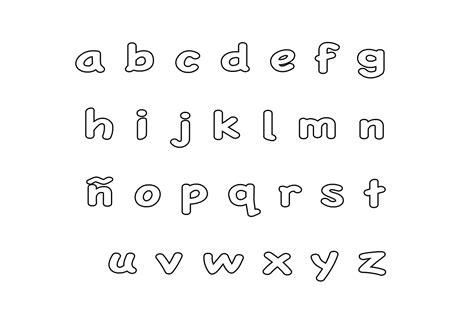 entra y conoce el abecedario para imprimir que estabas esperando
