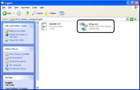 Driver installations for windows : How to install Canon CAPT Print Monitor