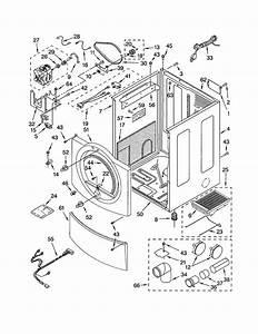Cabinet Diagram  U0026 Parts List For Model 11092832100 Kenmore
