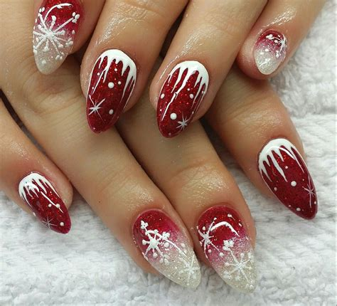nail noel nail design fullcover winter nail hacks