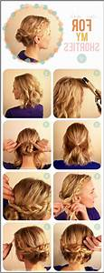 Straight Hairstyle Step By Step Medium Hair - Ladies ...