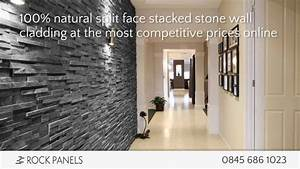 Rock Panels - Stacked Stone Wall Cladding - Split Face