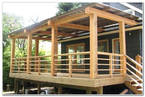 Roof Over Deck Ideas