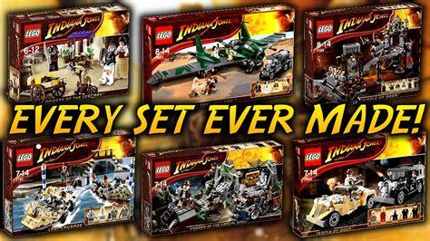 Lego Set by Every Lego Indiana Jones Set Made