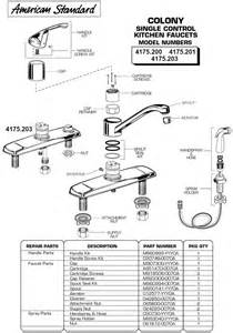corrego kitchen faucet plumbingwarehouse com standard commercial faucet parts for models 4175 200 475 201
