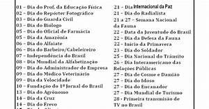 datas comemorativas mês de setembro ~ EDUCANDO COM AMOR 2013