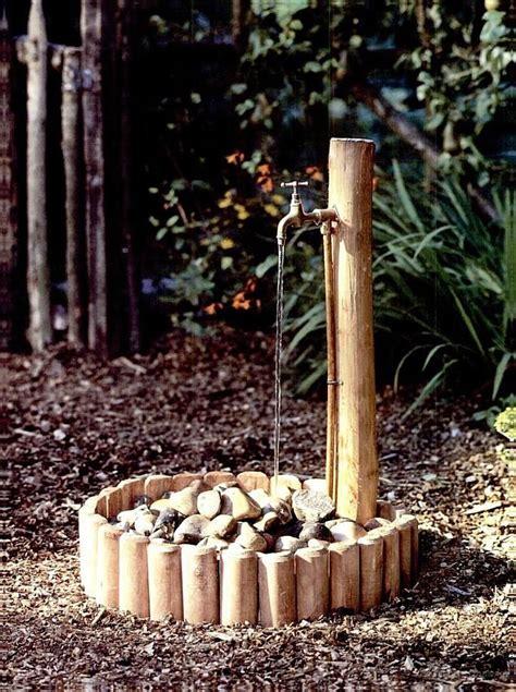 wasserhahn garden sink water tap water features