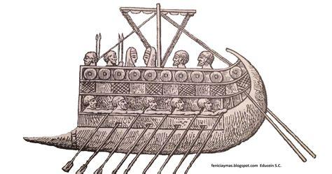 Barco De Vela Antiguo Dibujo by Educein Barcos Fenicios
