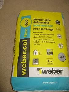 Colle Carrelage Exterieur Flex : flex eco sac de 25 kilos weber colles carrelage et produits d 39 entretien colle carrelage ~ Nature-et-papiers.com Idées de Décoration
