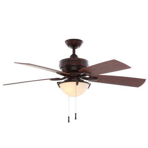 d location ceiling fans hton bay 4 winds 54 in indoor outdoor weathered bronze